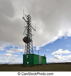 All weather communications station - An all weather...