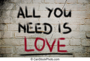 All You Need Is Love Concept