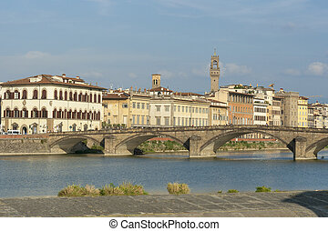 Alla Carraia bridge in Florence