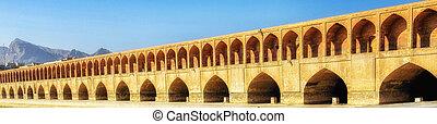 Allahverdi Khan Bridge in Isfahan