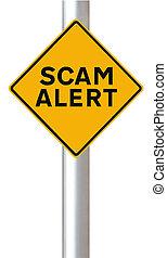 allarme, scam