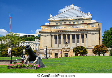Allegheny County Soldiers Memorial - PITTSBURGH - AUGUST 7:...