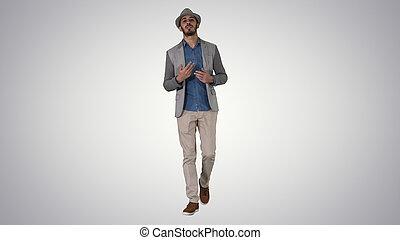 allegro, camicia, elegante, trendy, do, positivo, uomo, ...