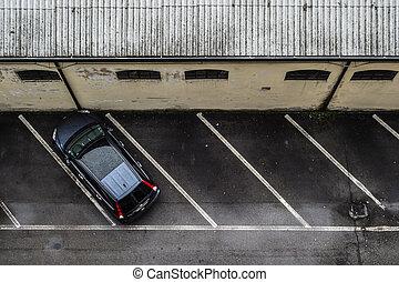 alleine, parken