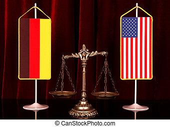 allemagne, et, américain, justice