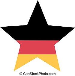 allemand, étoile