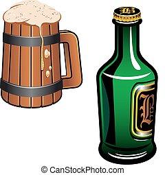 allemand, bière