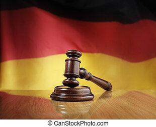 allemand, droit & loi