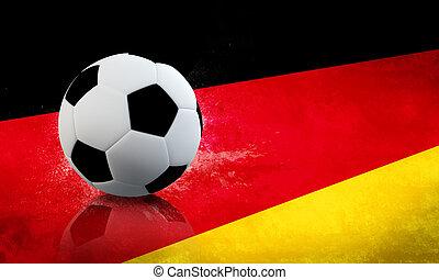 allemand, football