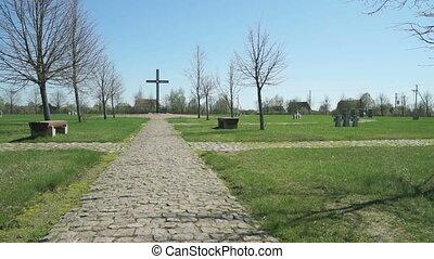 allemand militaire, commémoratif, cimetière, russie