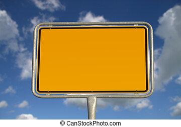allemand, panneaux signalisations
