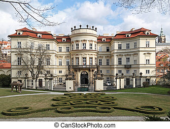 allemand, prague, ambassade