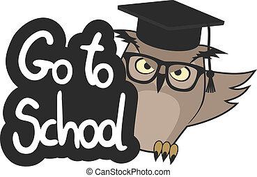 aller, école
