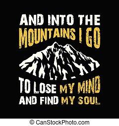 aller, montagnes