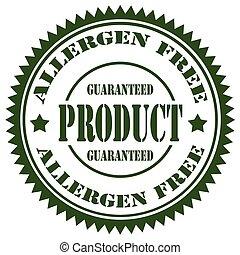 Allergen Free-stamp