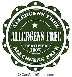 Allergens Free-stamp