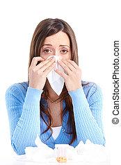 allergi, influensa