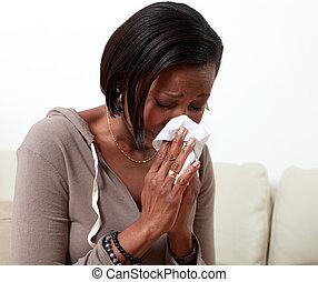 allergy., 女