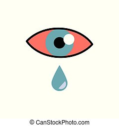 allergy., 概念, 目, 腫れ, -, lacrimation, 結膜炎, 結膜, 赤, ∥あるいは∥, 徴候