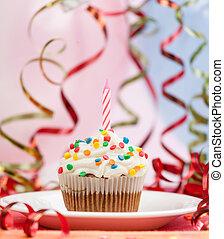 alles gute geburtstag, kerzen, cupcake