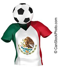 alles, mexico, nationale, verzameling, teams, team, voetbal, |