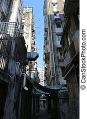 alley in hong kong