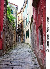 Alley of Labin