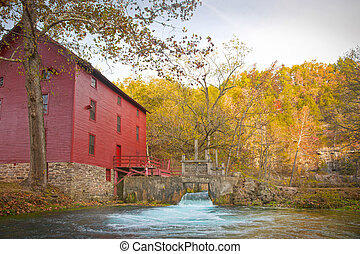 alley spring mill house - mill house at alley spring ...