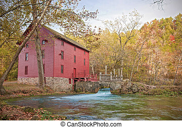 alley spring mill house - mill house at alley spring...