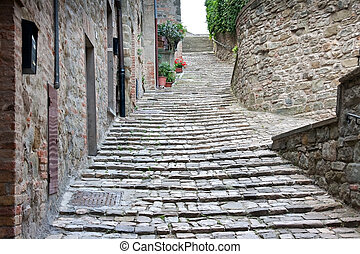 Alley / steps in Italy