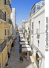 Alleyway. Bari. Apulia.