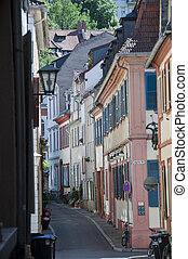 alleyway - one of the many streets in heidelberg