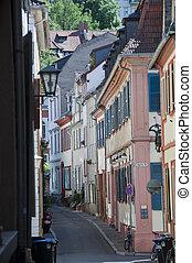 alleyway - one of the many streets in heidelberg