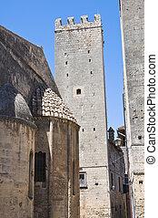 Alleyway. Tarquinia. Lazio. Italy.
