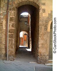 Alleyways in Sarteano