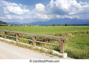 Allgaeu Landscape - Landscape in the Allgaeu (Bavaria,...