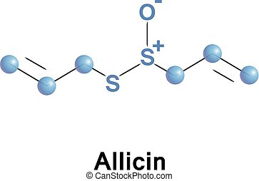 Allicin organosulfur compound