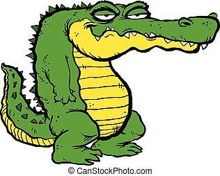 alligator mascot vector cartoon cartoon image of a gator or clip rh canstockphoto com clipart alligator free clipart alligator cartoon