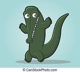 Alligator Character
