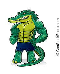 alligator, fort