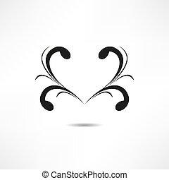 ?alligraphic, tervezés elem
