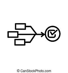 allocation, recurso, diseño, ilustración