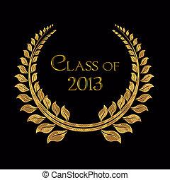alloro, 2013, classe, oro