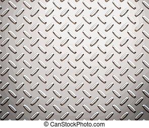 alloy diamond plate metal - a large seamless sheet of ...