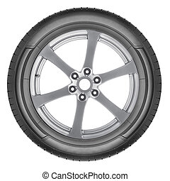 alloy wheel set