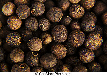 Allspice for background