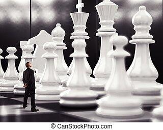 allumette, de, échecs