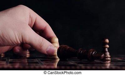 allumette, pion, enjôleur, échecs, une