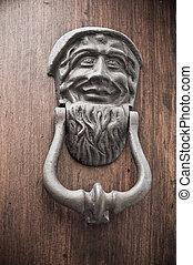 allwood, doorknocker, door.