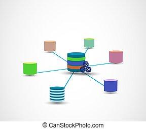 almacén, concepto, datos